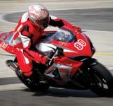 Glassfibre Motorbike