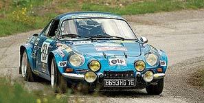 Glassfibre Rallycar