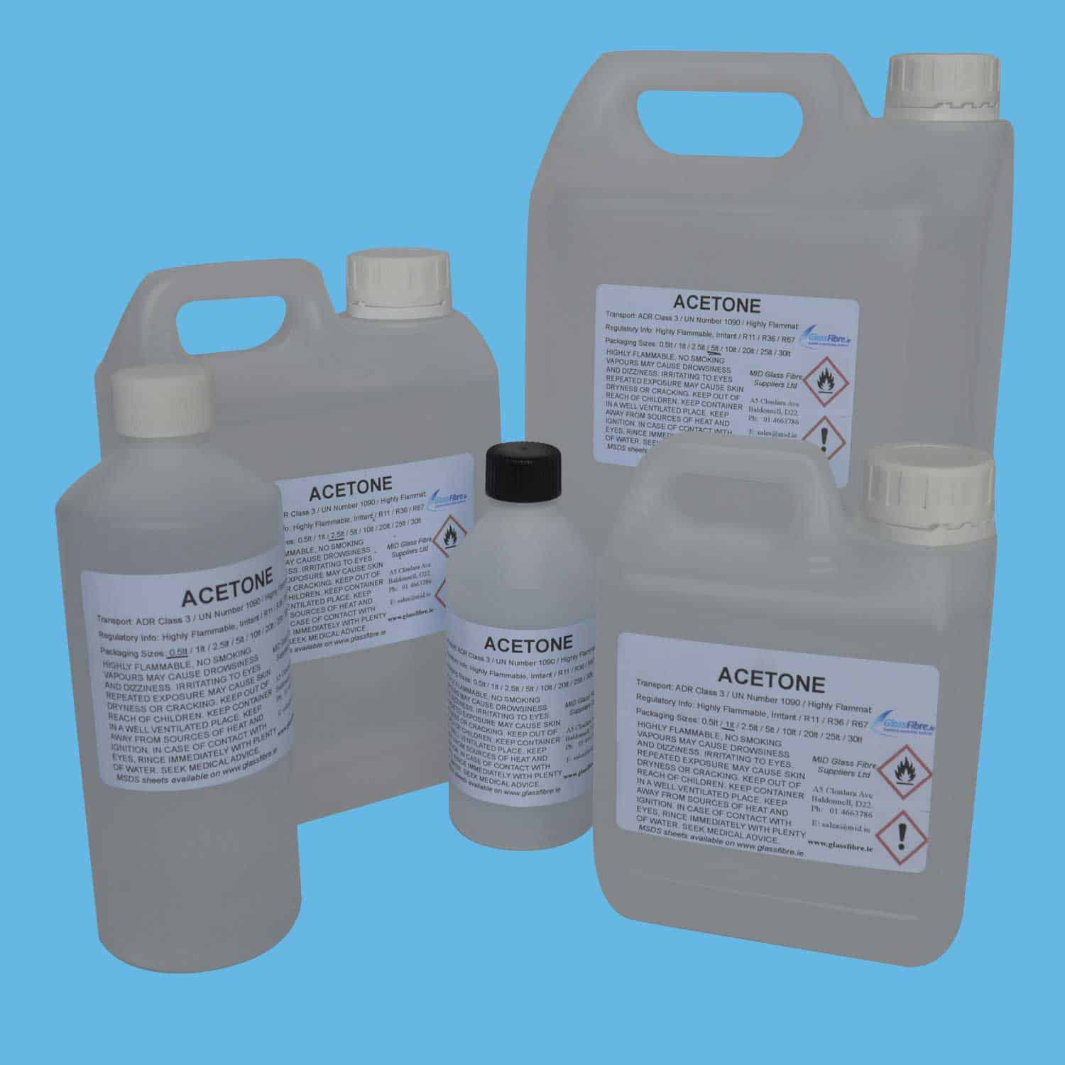 Acetone Glassfibre Ie Online Shop