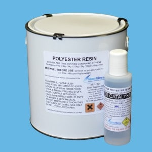 Water Clear Casting Polyester Resin