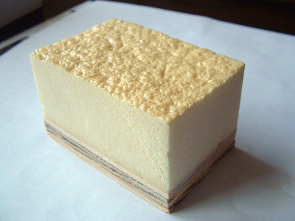 Brown Polyurethane Foam Part A B Glassfibre Ie