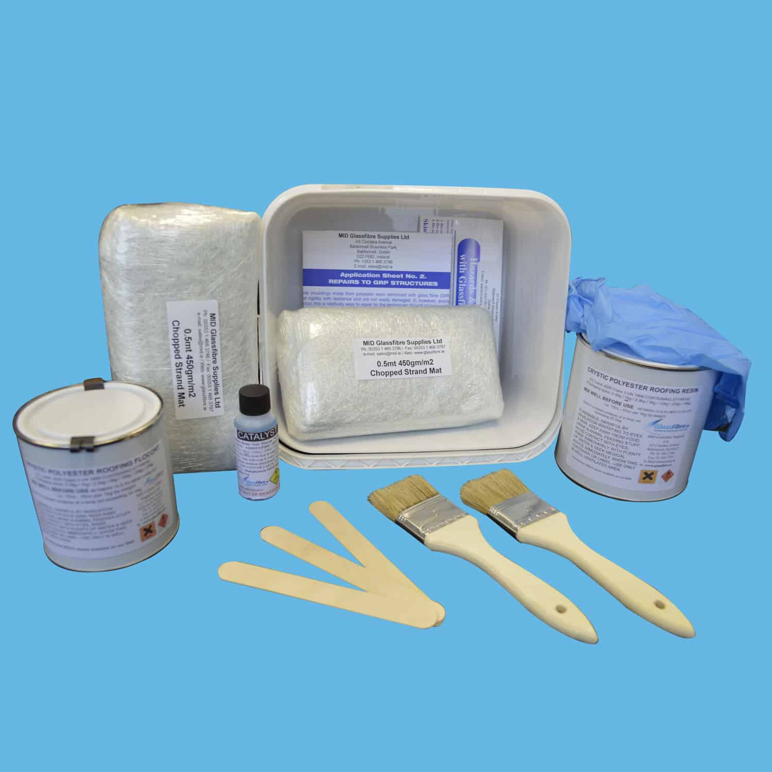 1sq meter – Roofing Repair Kit