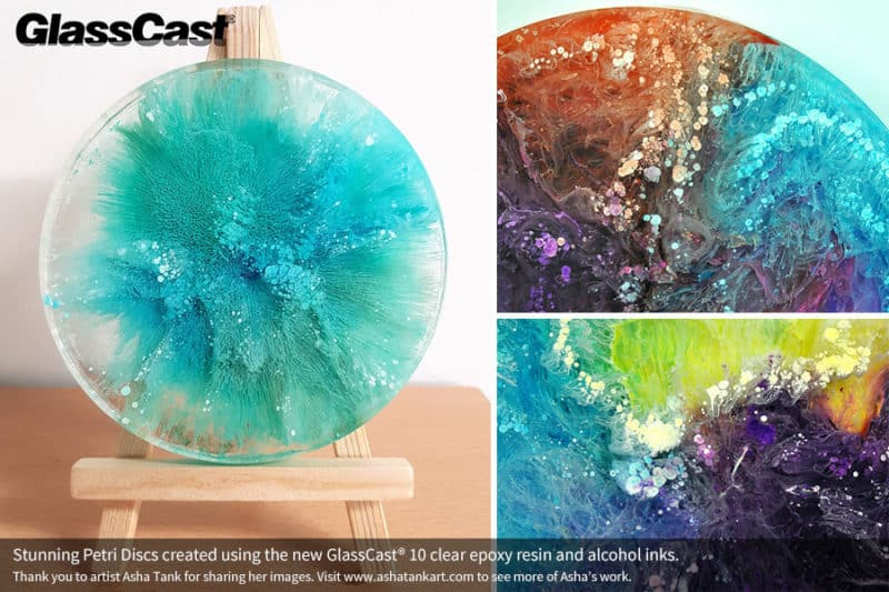 Glasscast 10 Is A Water Clear Uv Resistant Epoxy Resin