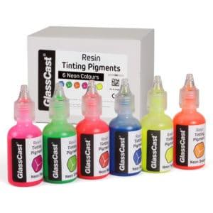 6 Neon Pigments